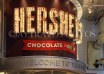 USA, New York, MANHATTAN, Broadway, Hershey's Chocolate World, sign, US4659JPL