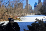 USA, New York, MANHATTAN, Central Park, Winter scene, US4483JPL