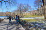 USA, New York, MANHATTAN, Central Park, Winter scene, US4486JPL