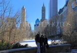 USA, New York, MANHATTAN, Central Park, Winter scene, US4510JPL