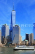 USA, New York, MANHATTAN, Downtown buildings and One World Trade Center, US4491JPL