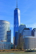 USA, New York, MANHATTAN, Downtown buildings and One World Trade Center, US4514JPL