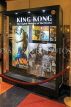 USA, New York, MANHATTAN, Empire State Building, King Kong movie posters, US4678JPL