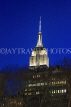 USA, New York, MANHATTAN, Empire State Building, night view, US4586JPL