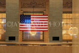 USA, New York, MANHATTAN, Grand Central Station, US flag, US4507JPL