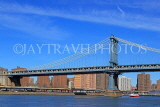 USA, New York, MANHATTAN, Manhattan Bridge, US4580JPL