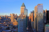 USA, New York, MANHATTAN, Midtown buildings, architecture, dusk, US4589JPL