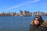 USA, New York, MANHATTAN, Midtown skyline, Hudson River and tourist, US4642JPL