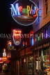 USA, Tennessee, MEMPHIS, Beale Street, neon lit signs, US4395JPL