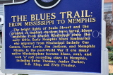 USA, Tennessee, MEMPHIS, Blues Trail historical marker, US4386JPL