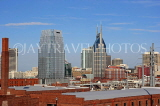 USA, Tennessee, Nashville, skyline, US4326JPL
