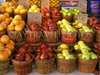 USA, Texas, DALLAS, Farmers Market, fruit display, DAL119JPL