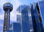 USA, Texas, DALLAS, downtown architecture, Reunion Tower and Hyatt Regency Hotel, DAL41JPL