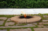 USA, WASHINGTON DC, Arlington National Cemetery, Kennedy grave and flame, US4002JPL