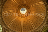 USA, WASHINGTON DC, Library of Corgress, main Reading Room dome, WAS382JPL