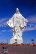 USA, Wyoming, Bluff, Our Lady of Peace statue, US4024JPL