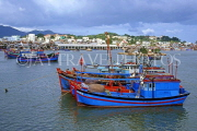 VIETNAM, Nha Trang, harbour and fishing boats, VT649JPL