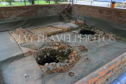 Vietnam, HANOI, Imperial Citadel of Thang Long, archaeological excavations, water wells, VT896JPL