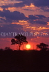 ZIMBABWE, sunset near Lake Kariba, ZIM15JPL